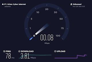 Cara Melihat Kecepatan Internet