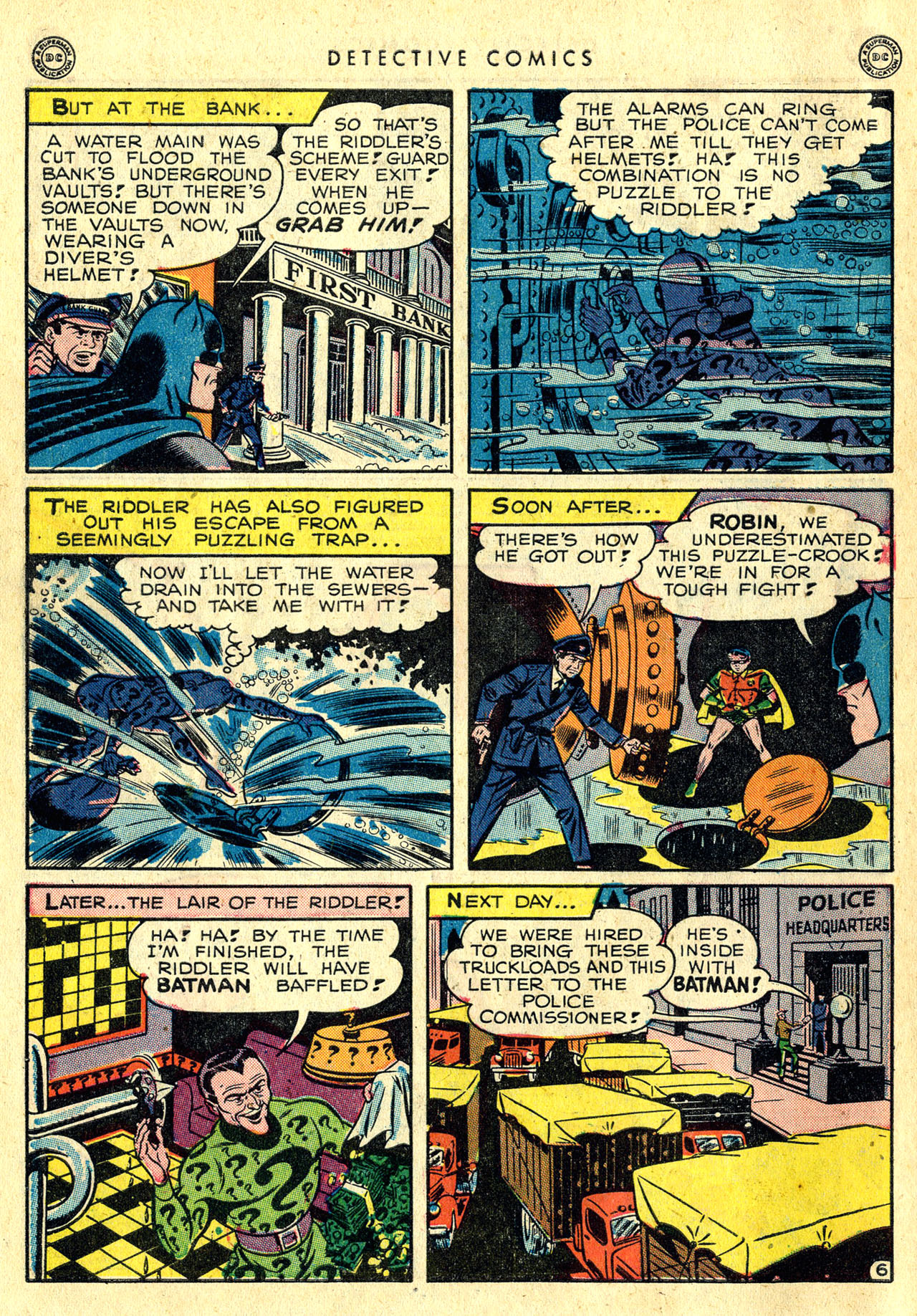 Read online Detective Comics (1937) comic -  Issue #140 - 8