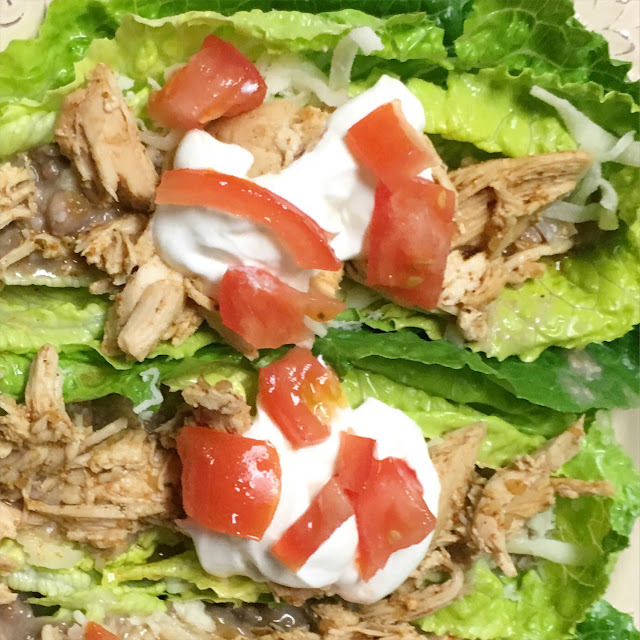 Low carb chicken tacos-iifym life, diet food