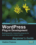 Book: WordPress Plugin Development