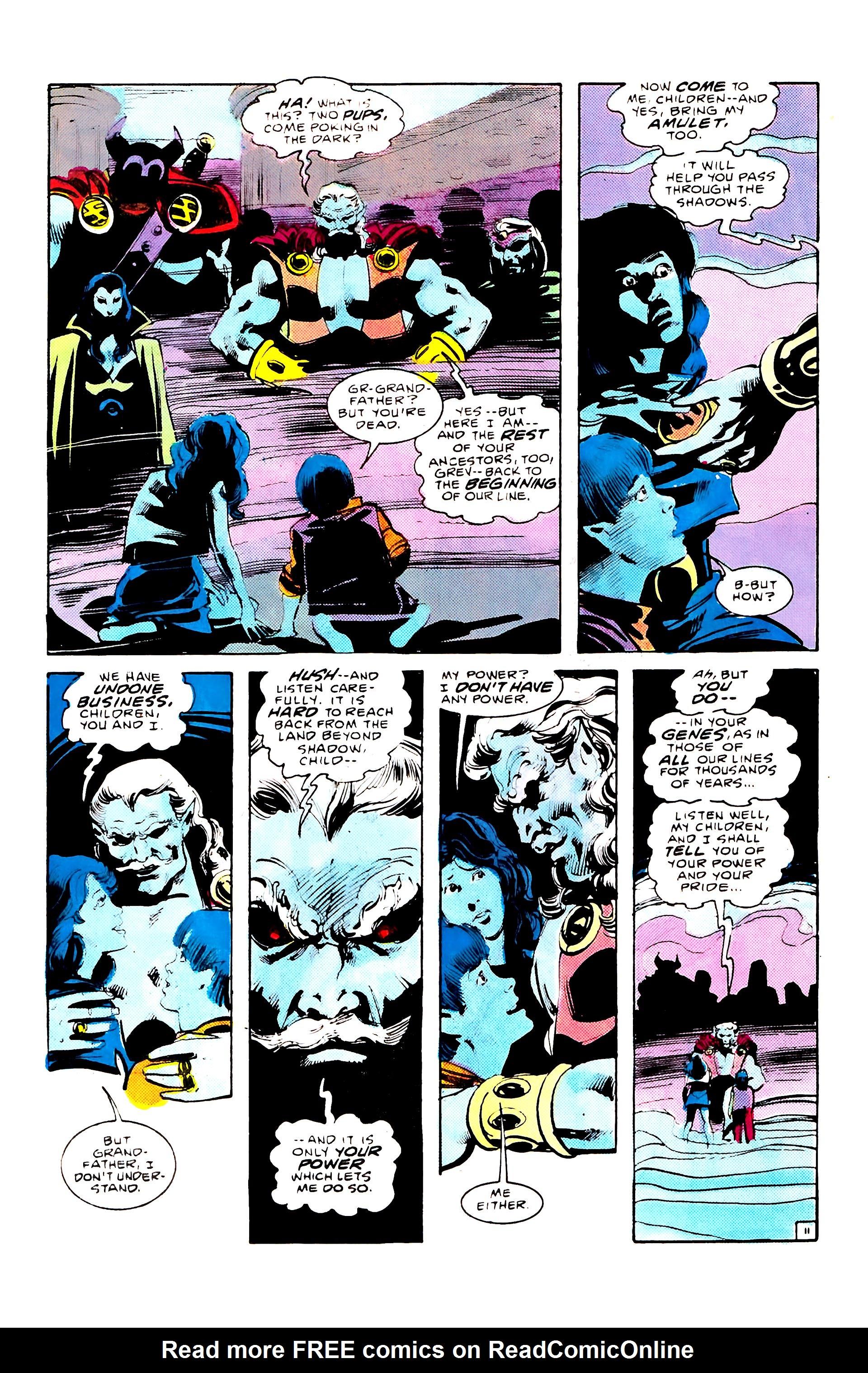 Read online Secret Origins (1986) comic -  Issue #8 - 17