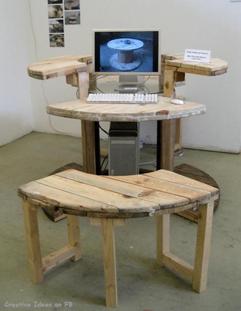 Kreativiti Kitar Semula...Perabot Kreatif