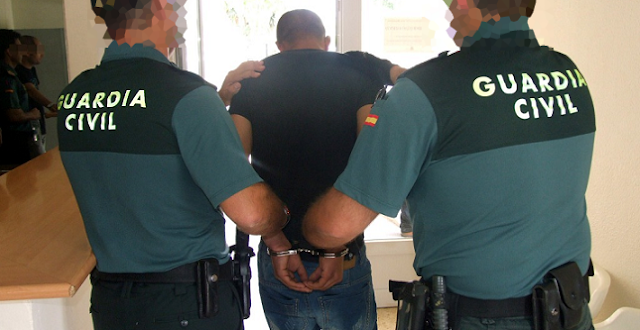 Detenido un Guardia Civil por formar parte de una banda que robaba en viviendas