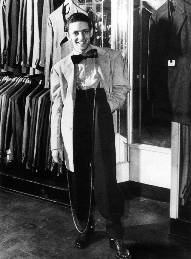 Zoot Suit Trousers 1940s Mens Fashion That Trend Popular During