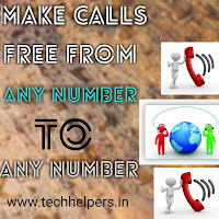 Free calls from any phone to any phone including international calls