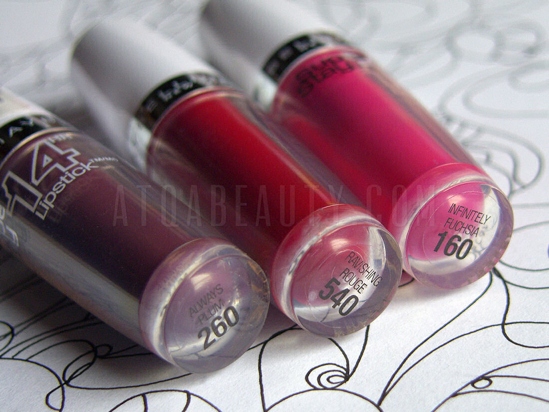 Maybelline, SuperStay, 14HR Lipstick