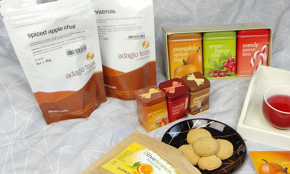 Adagio Festive Teas