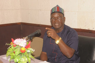 Ortom Visits Wife Of His Assassinated Aide, Vows To Fish Out Killers