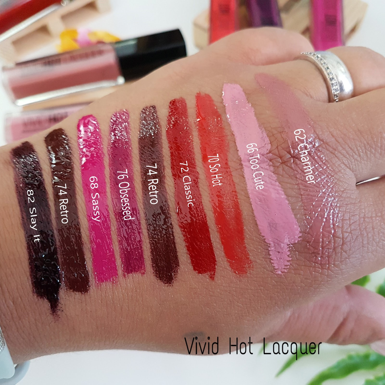 swatch_vivid_hot_lacquer_maybelline_concours_mama_syca_beaute