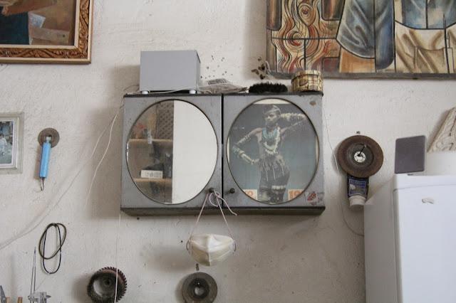 Tadjikistan, Dushanbe, atelier de Saïd Makhmudov, © L. Gigout, 2012
