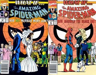 Resultado de imagem para what if spider dont married mary jane