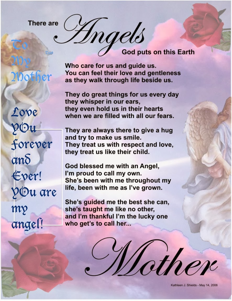 Loving Memory My Mother Poems