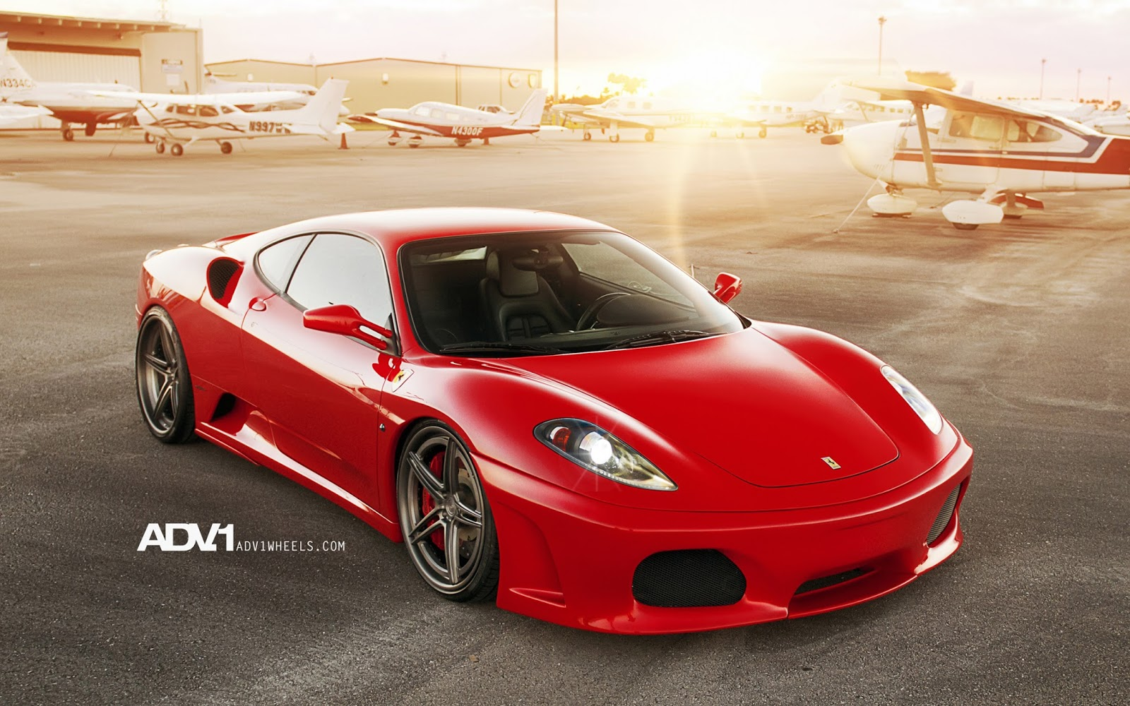 Lynettes Crafts Ferrari F430 HD Wallpaper For IPhone