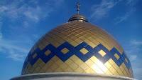 Hasil gambar untuk gambar yang terbuat dari fiberglass kubah masjid