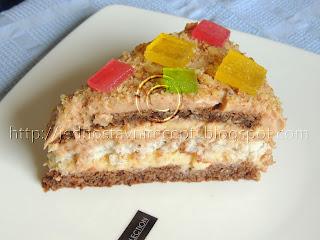 Kamelija torta sa kokosom i orasima