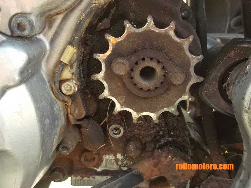 Replacing chain