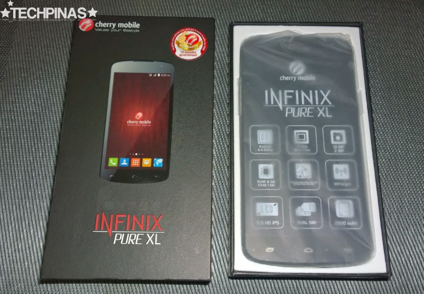 Cherry Mobile Infinix Pure XL