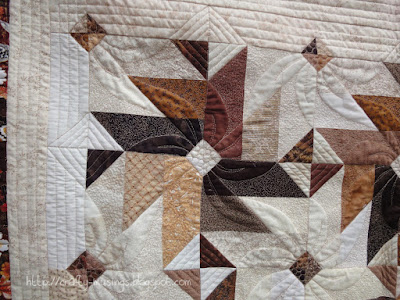 Fall 2013 Mystery Quilt, quilting detail 2