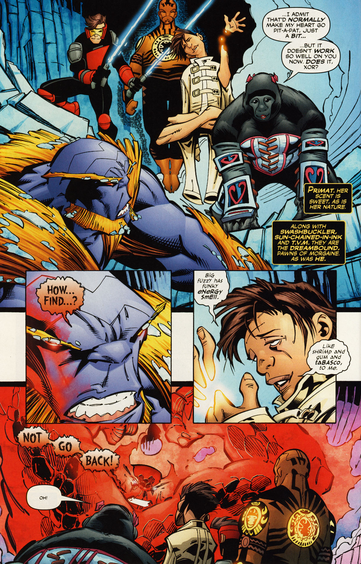 Read online Trinity (2008) comic -  Issue #46 - 21