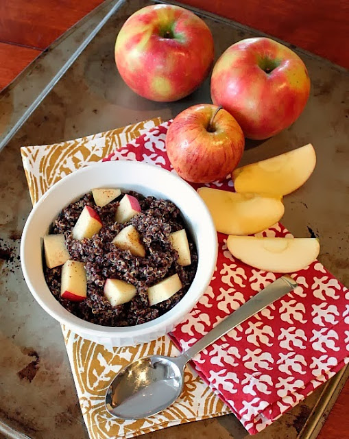 peanut butter apple quinoa