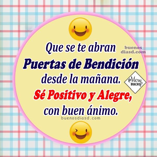 Lindas frases de buenos días, bonitos mensajes positivos para facebook con imágenes de buen día por Mery Bracho.
