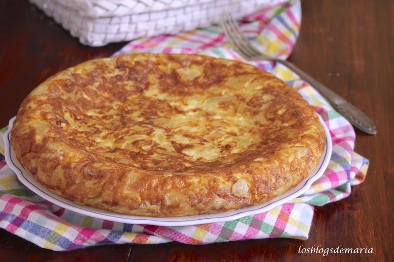 La tortilla de patatas , receta asaltablogs