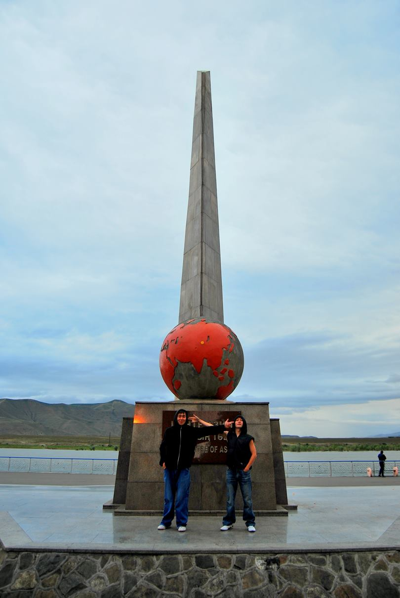 Kain versus Kain in the Centre of Asia in Kyzyl, Tuva, Siberia, Russia