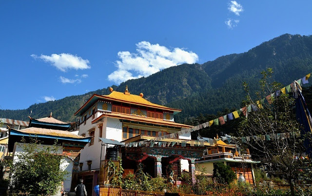 Explore Buddhist monasteries