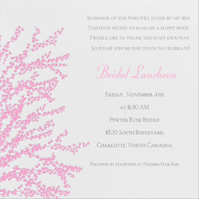 Hitched: Bridal Luncheon