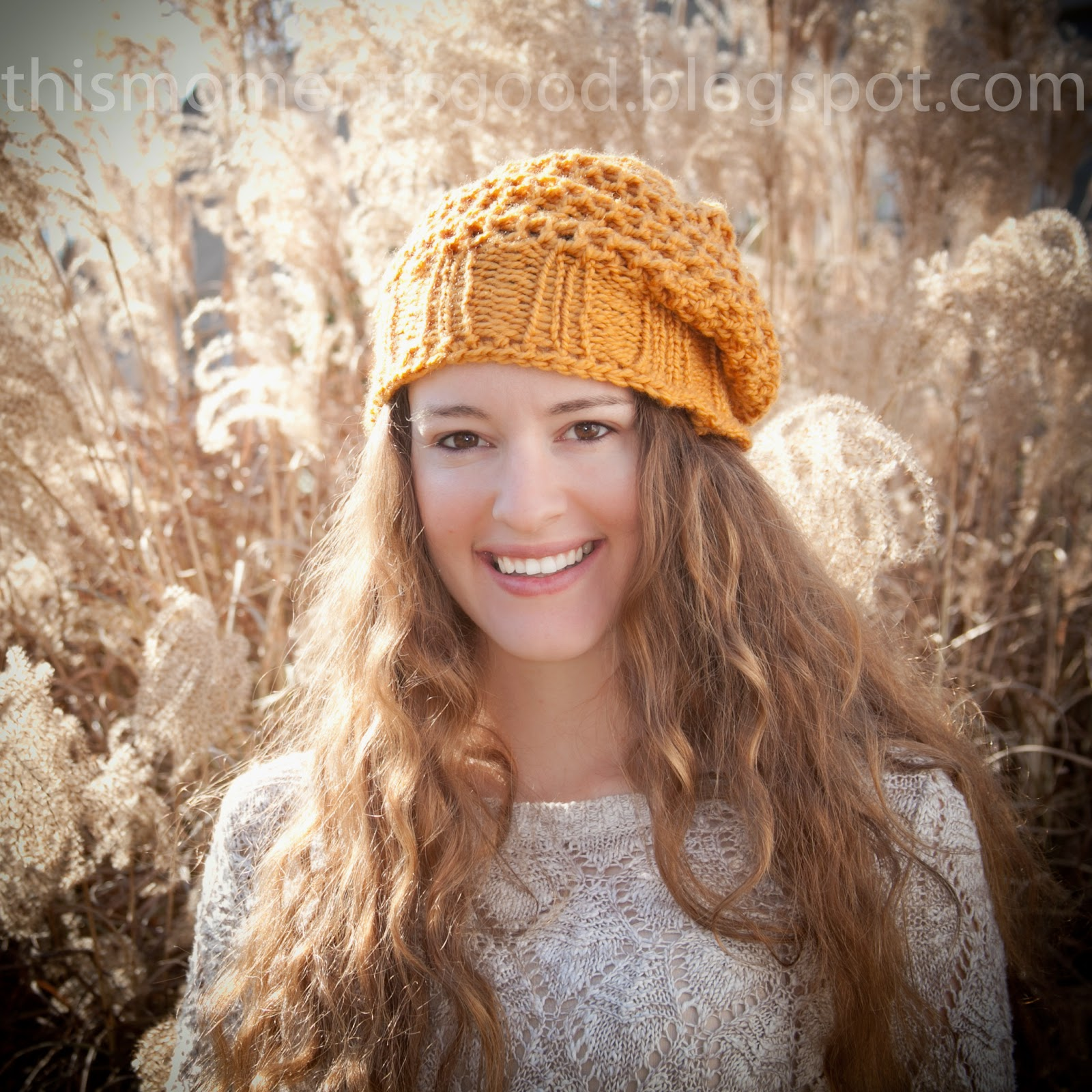 LOOM KNIT HAT PATTERNS! | Loom Knitting by This Moment is Good!