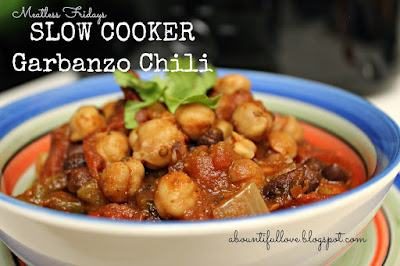 http://www.abountifullove.com/2014/07/slow-cooker-garbanzo-chili.html