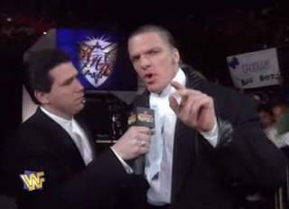 WWF / WWE Royal Rumble 1996: Todd Pettengill interviews Hunter Hearst Helmsley
