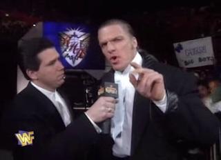 WWF / WWE Royal Rumble 1996: Todd Pettengill interviews Hunter Hearst Helmsley