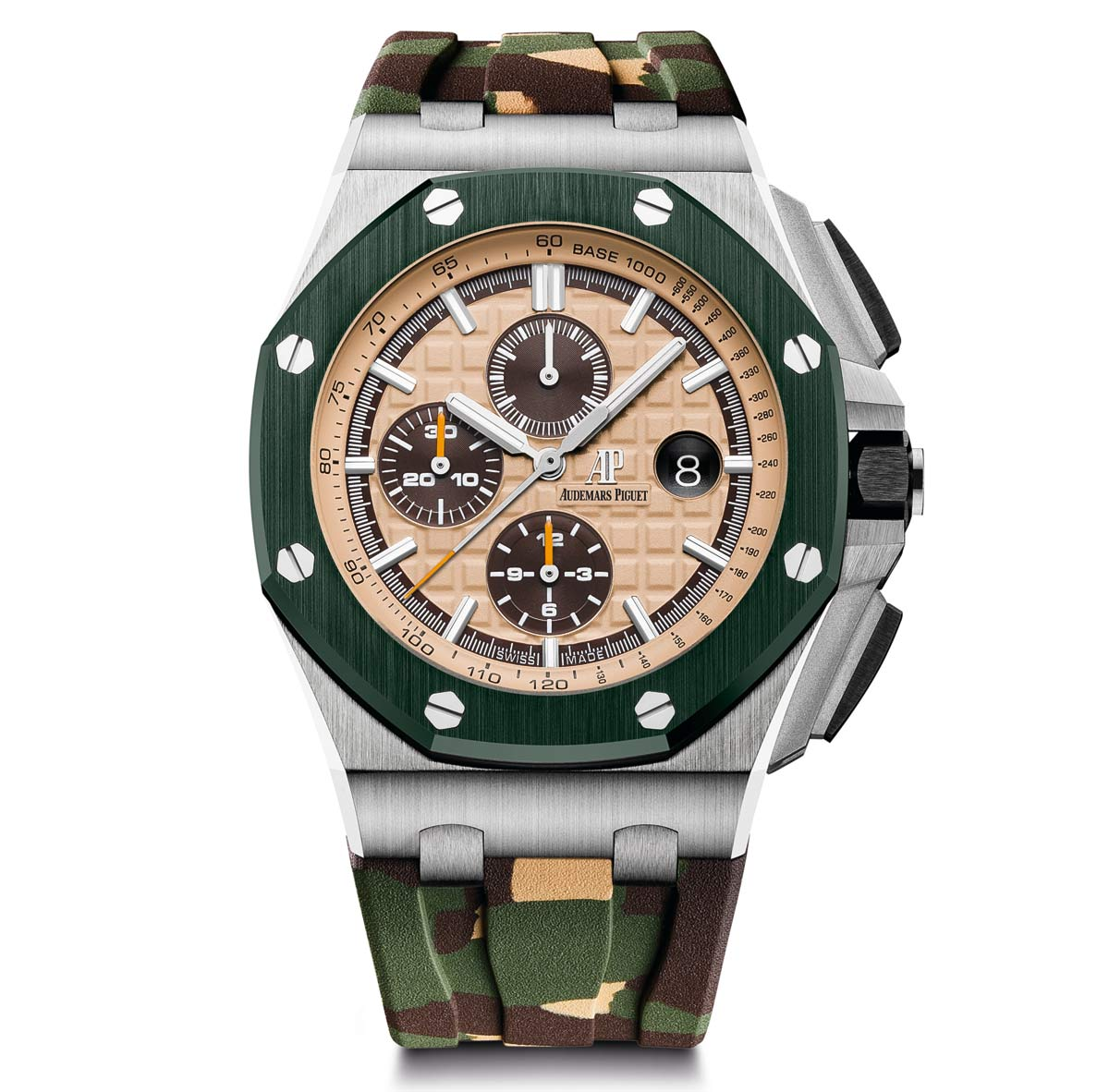 Sihh 2018 audemars piguet royal oak offshore chronograph new 2018 models time and watches for Ap royal oak offshore chronograph