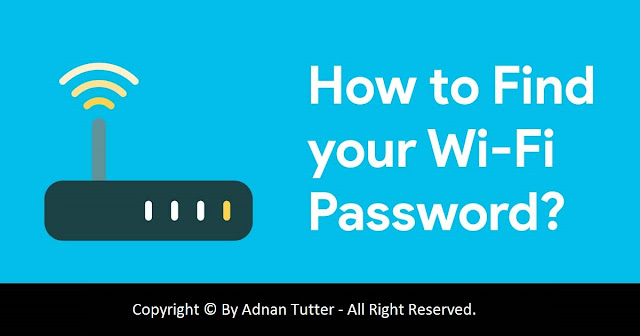 How To Find WiFi Password of your Current Connection