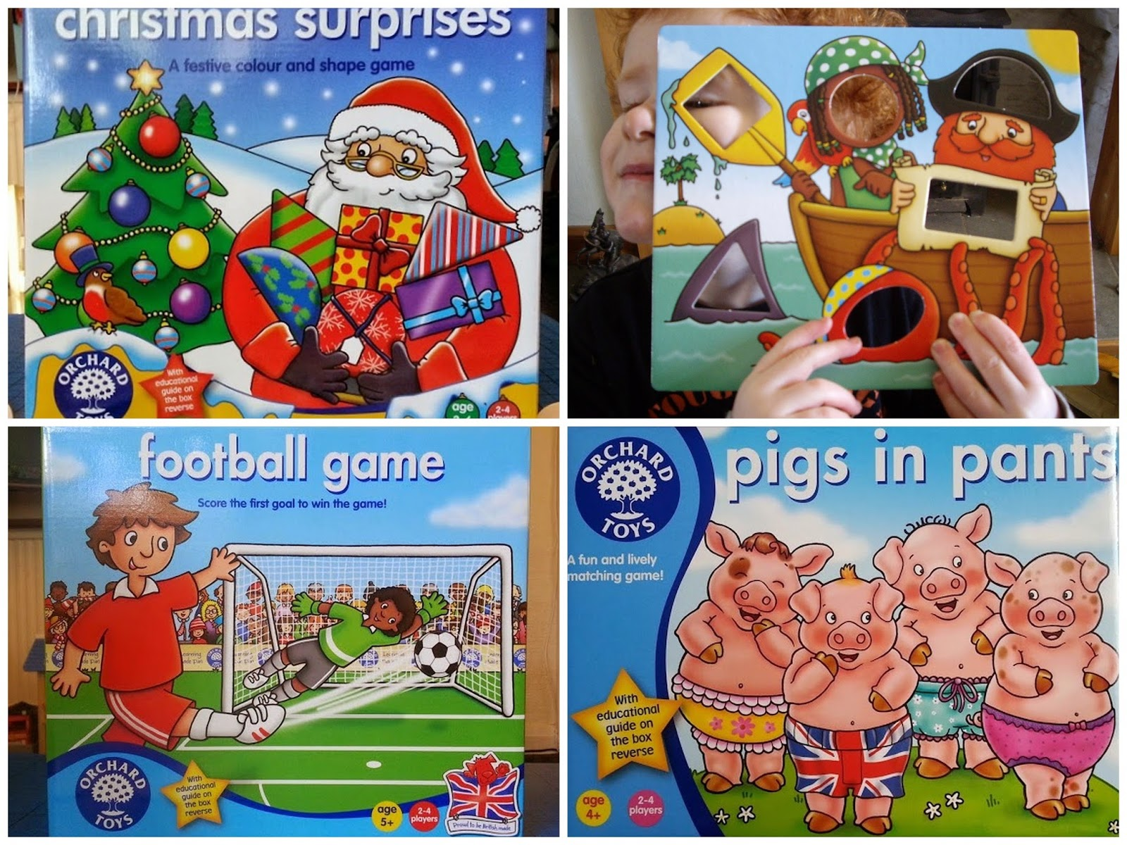 Orchard Toys board games under £10