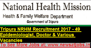 Tripura-NRHM-49-Epidemiologist-Doctor-Recruitment