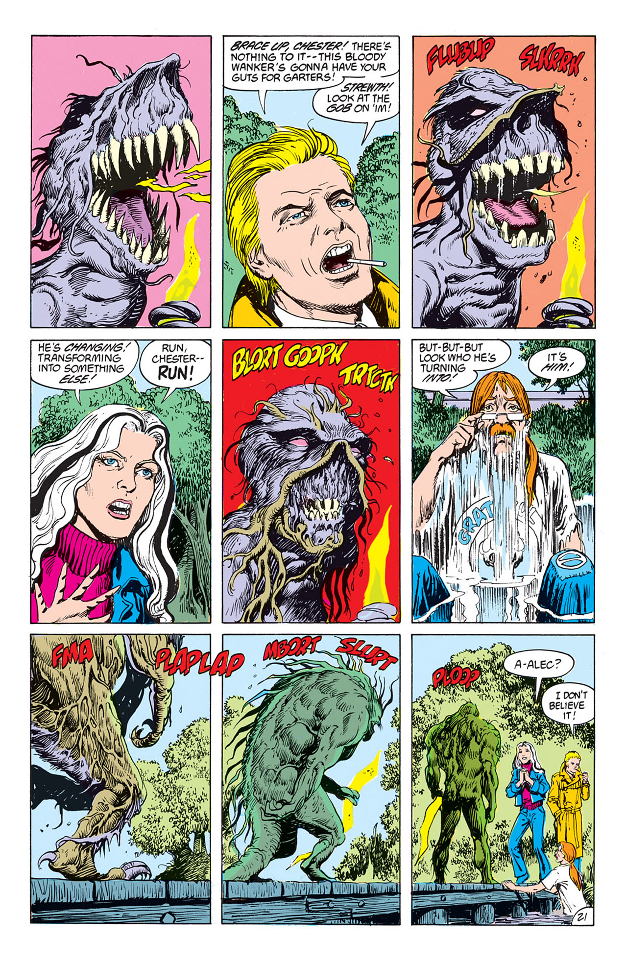 Swamp Thing (1982) Issue #73 #81 - English 22