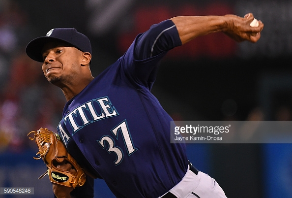 Miranda, de 27 años, fue enviado desde los Orioles de Baltimore a los Marineros de Seattle en la fecha límite de cambios el 31 de julio