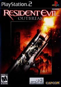 Capa do Jogo Resident Evil OutBreak File #1 2004 PS2 Pt-Br