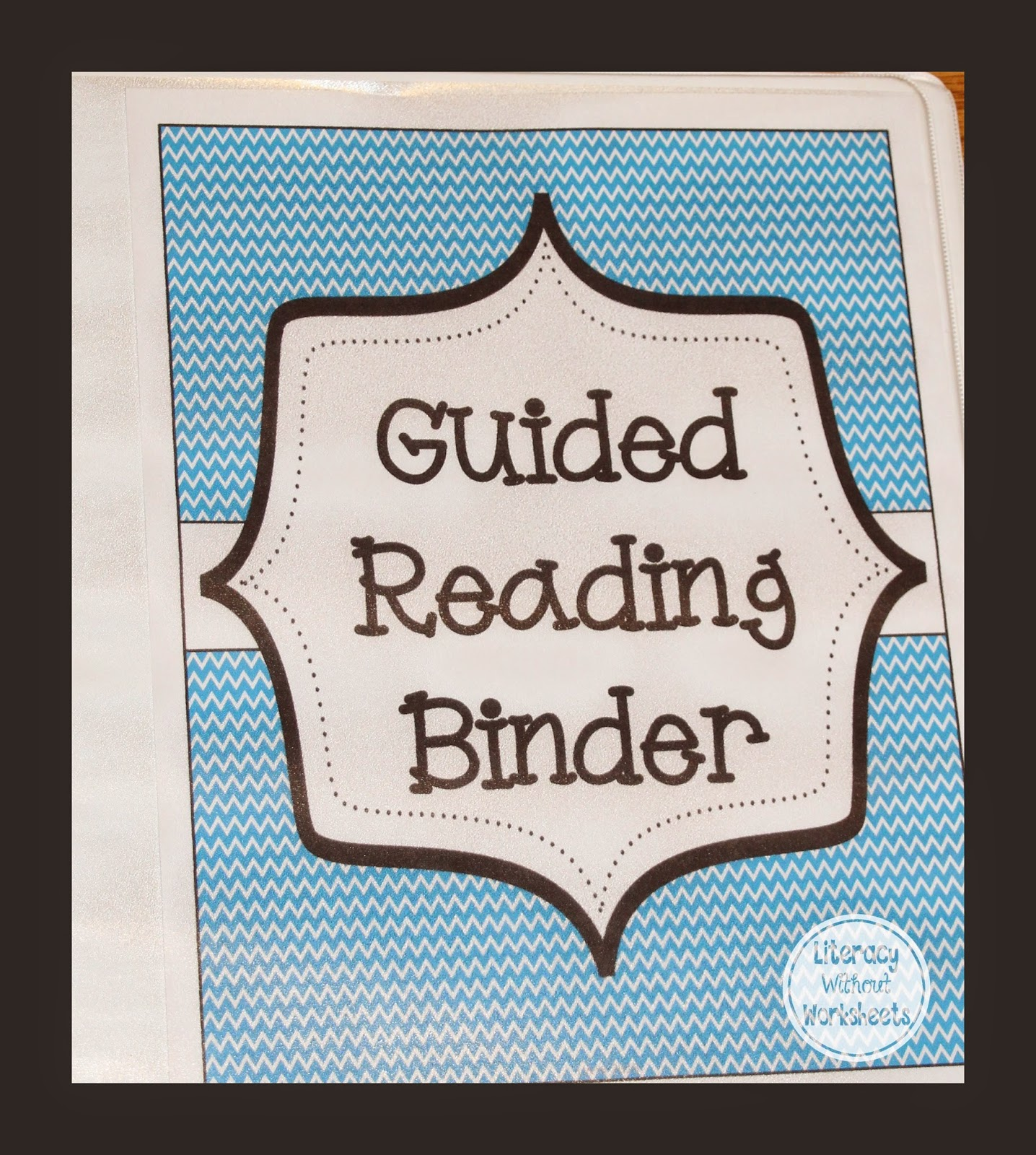 http://www.teacherspayteachers.com/Product/Guided-Organizational-Binder-for-Guided-Reading-and-Literacy-Workstation-494811