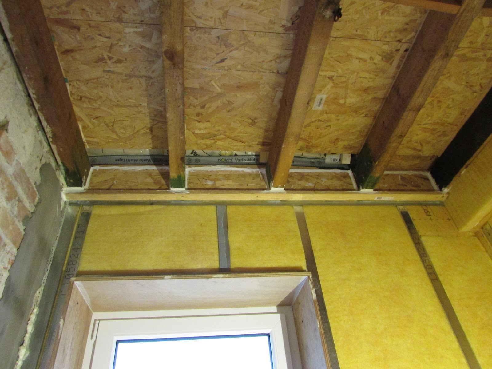 verbouwing van ons ouderlijk huis: voorzetwanden badkamer 2