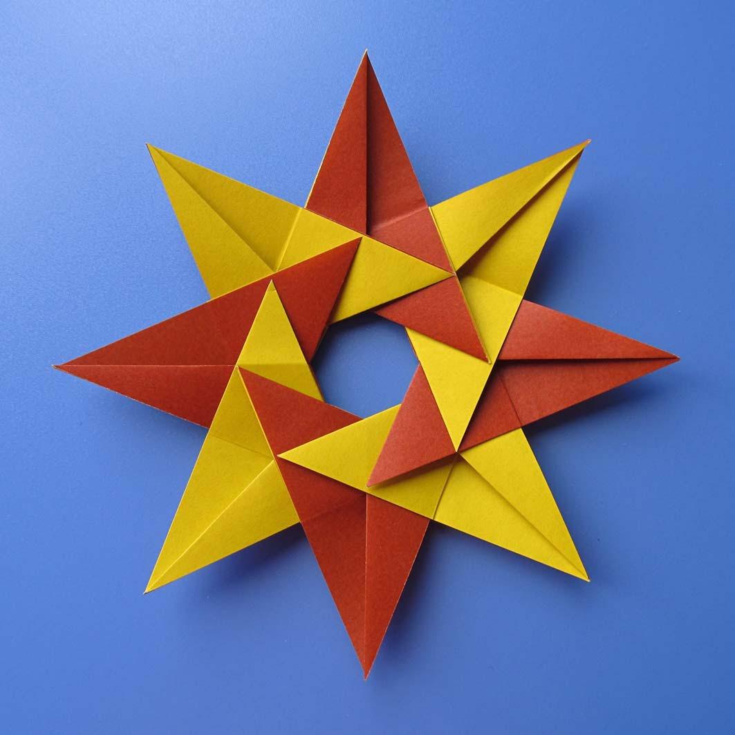 Stella Natale Di Carta.Origami Poesie Di Carta Stella Natale Christmas Star