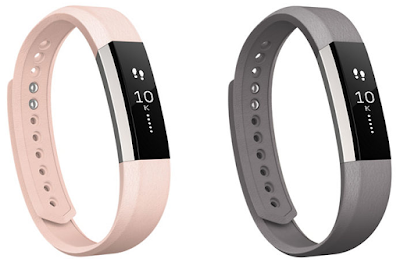 Fitbit Alta Activity Tracker Leather Wristband in pink or gray $30 (reg $60) - get the Alta here