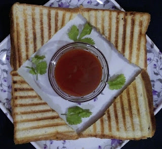 Grilled Aloo Sandwich recipe | Grilled Potato Sandwich | How to make Grilled Potato Sandwich?