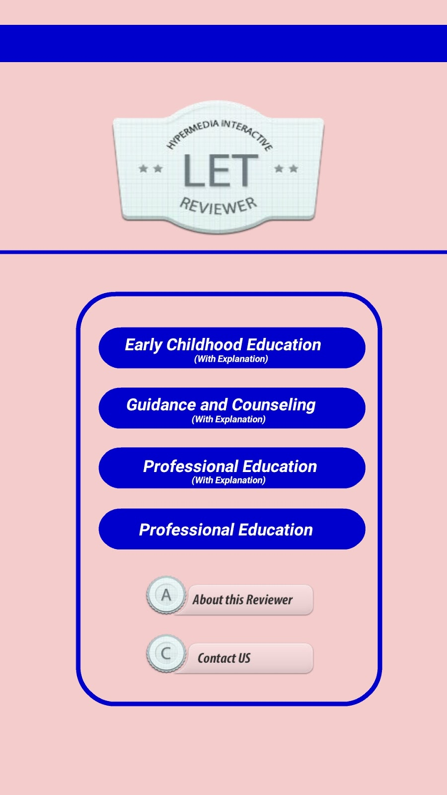 Licensure Examination For Teachers Let Professional Education Reviewer Set
