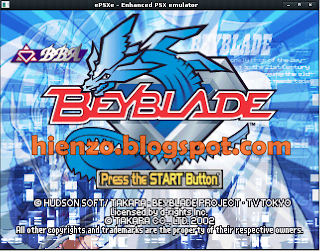 Beyblade PS1 Gameplay