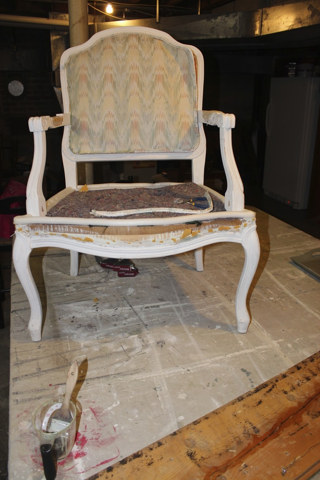 I Practically Hugged Her When She Said Could Take Home This French Provincial Side Chair For 10 Yep Score My Favourite Style Of