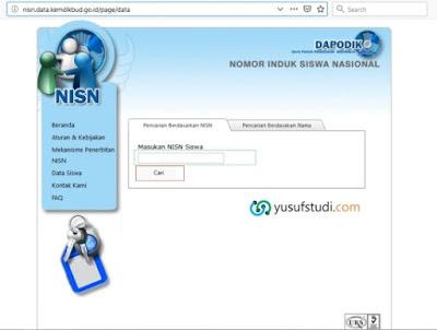 Cara Melihat dan Memperbaiki Data NISN Siswa Salah
