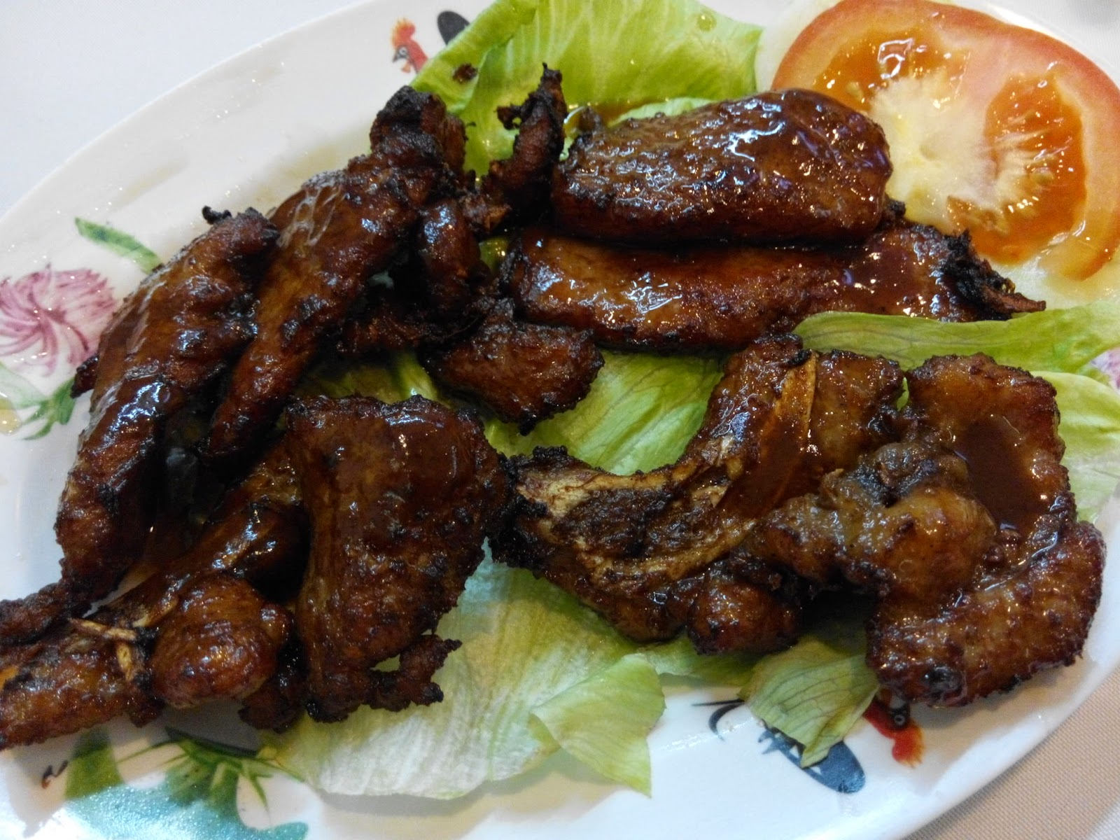 Chinese Fried Pork Ribs in Chinese style
